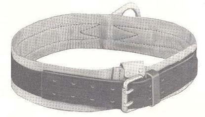 Picture of 5447LB-1D-XL Safety Belt Leather Billet-XL