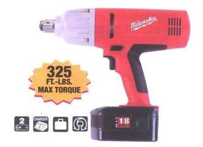 Picture of MILWAUKEE  Battery 18 Volt Impact Wrench 3/4 Dr (9078-22)