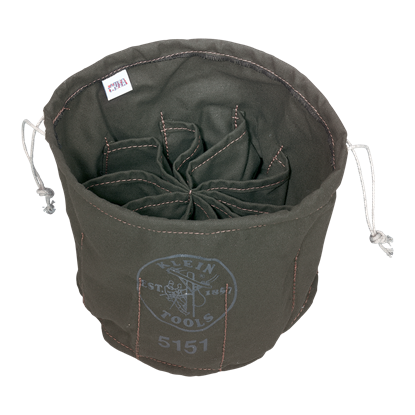 Picture of Klein Ten-Compartment Drawstring Bag
