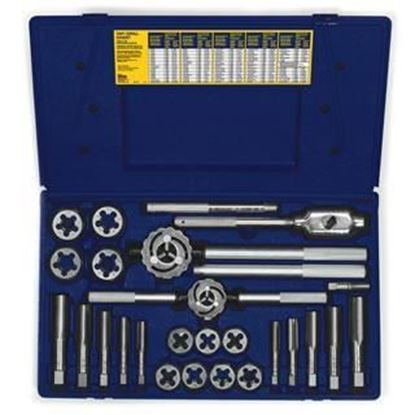 Picture of HANSON® 25-pc Fractional Tap & Hex Die Set