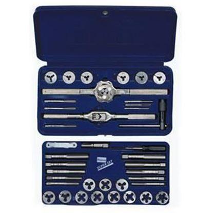 Picture of HANSON® 39-pc Machine Screw / Fractional Tap & Solid Round Die Set
