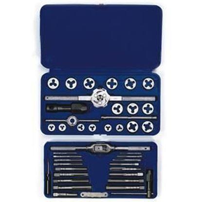 Picture of HANSON® 41-pc Machine Screw / Fractional Tap & Hex Die Set