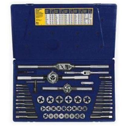 Picture of HANSON® 53-pc Machine Screw / Fractional Tap & Hex Die Set
