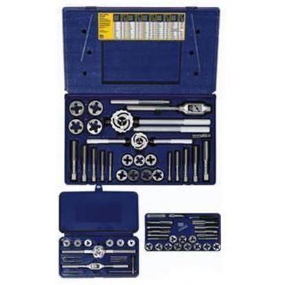 Picture of HANSON® 64-pc Machine Screw / Fractional Tap & Solid / Adjustable Round Die Set