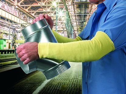 """Picture of Kevlar Sleeves (Yellow) / 3"""""""" Width X 18"""""""""""