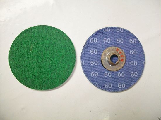 "Picture of Arc Abrasives Sanding Disc 2"" 80X / Zirconia / Type 'S'"