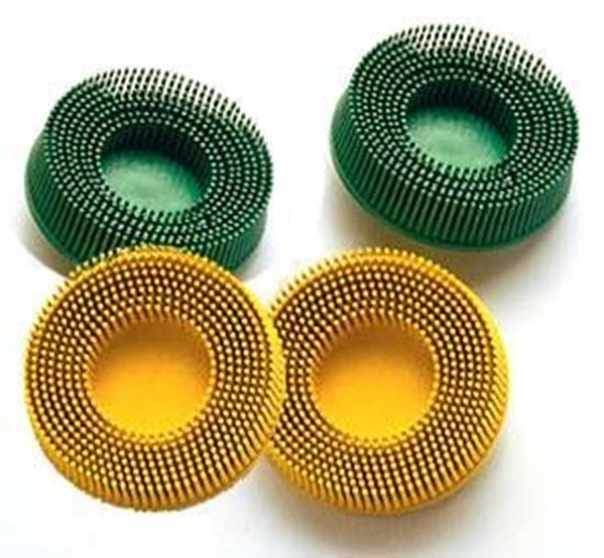 """Picture of Scotch-Brite™ Roloc™ Bristle Disc 3"""" (Roloc)  80X"""