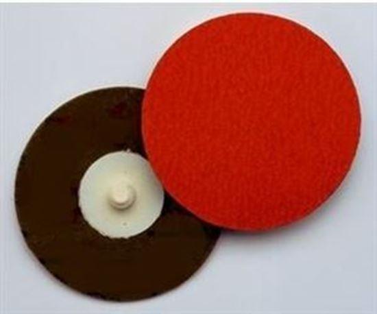 """Picture of 3M™ Roloc™ Disc 777F Sanding Disc 3"""" 120X / Ceramic / Roloc 'R'"""