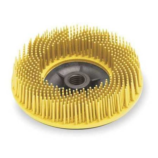 Picture of Scotch-Brite™ Bristle Disc Bristle Discs 4-1/2 / 5/8-11 Thread  80X