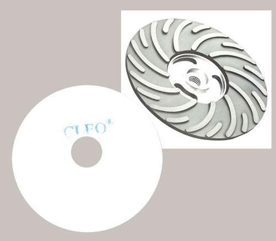 """Picture of Felt Polishing Disc 4-1/2"""" x 7/8"""" AH"""