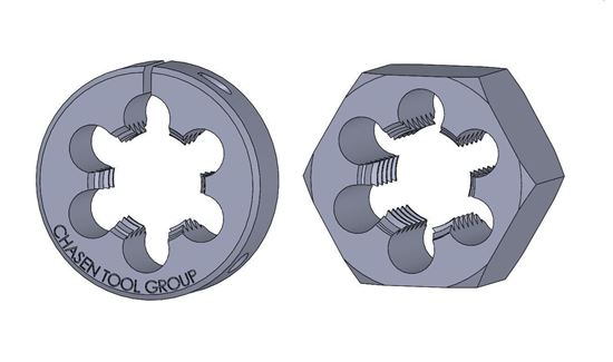 Picture of Thread Die 2-1/8 Fractional