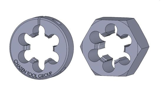Picture of Thread Die 1-1/16 Fractional