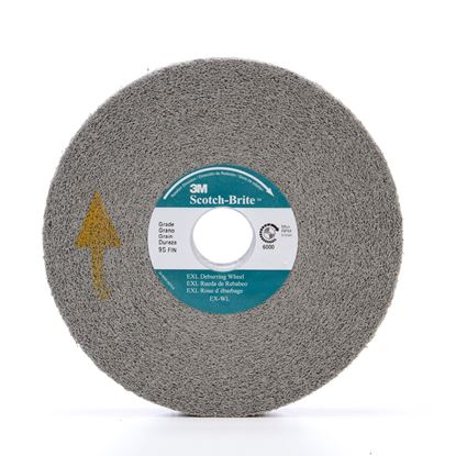 Picture of 3M™ Scotch-Brite™ EXL Deburring Wheel 6 X 1 X 1 8SFIN (09549)
