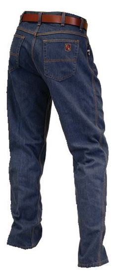 Picture of Riverside FR | Relaxed Fit Denim Blue Jeans