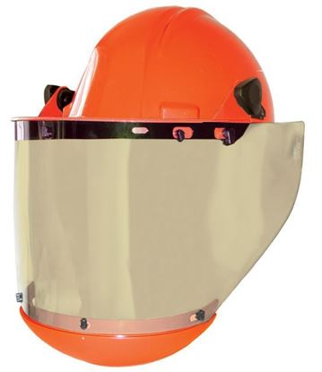 Picture of ProShield Hard Hat & Face Shield Complete w/ Chin Guard | AS1000HAT