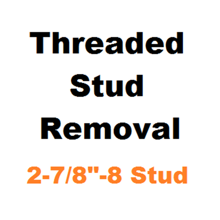 """Picture for category Stud Removal  2-7/8""""-8"""