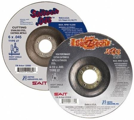 Picture for category Depressed Center Abrasive Wheels 4-1/2""