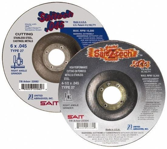 """Picture of Abrasive Wheels 5"""" Type 27"""