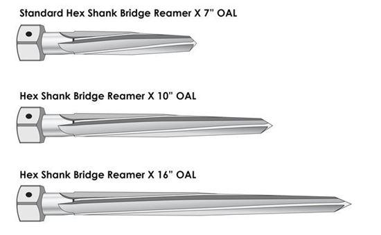 Picture of Hex Shank Bridge Reamer 15/16