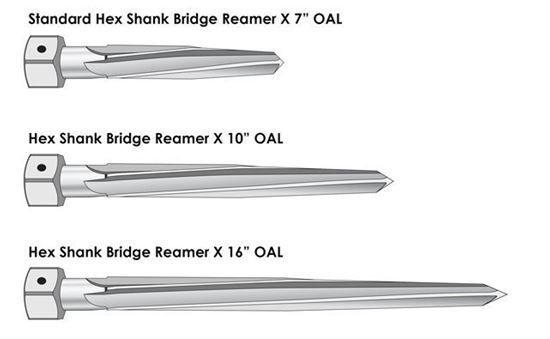 Picture of Hex Shank Bridge Reamer 1-7/8