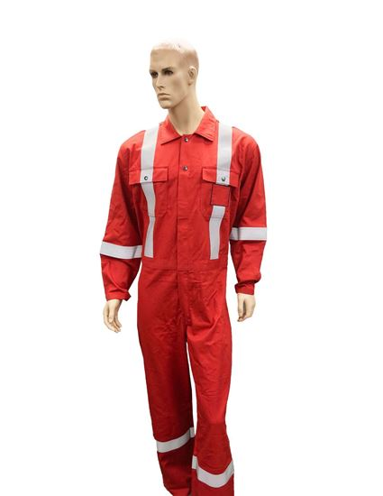 Picture of High Visibility Flame Resistant (FR) Deluxe Coverall