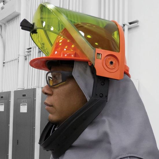 Picture of Arc Flash Lift Front Hood | 40 Cal