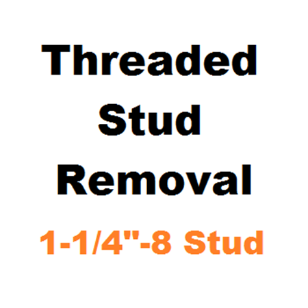 """Picture for category Stud Removal  1-1/4""""-8"""