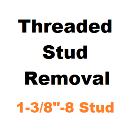 """Picture for category Stud Removal  1-3/8""""-8"""