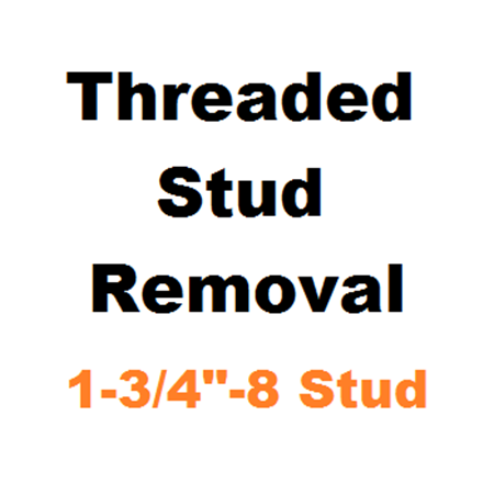 """Picture for category Stud Removal  1-3/4""""-8"""