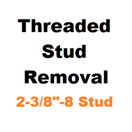 """Picture for category Stud Removal  2-3/8""""-8"""