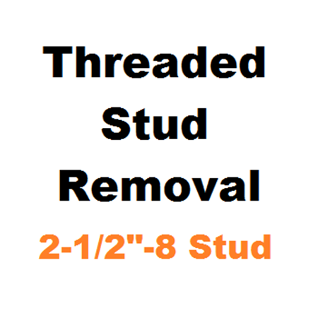 """Picture for category Stud Removal  2-1/2""""-8"""