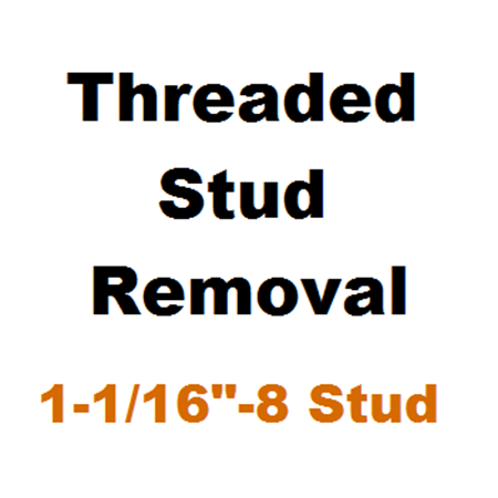 """Picture for category Stud Removal  1-1/16""""-8"""