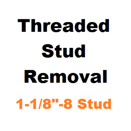 """Picture for category Stud Removal  1-1/8""""-8"""